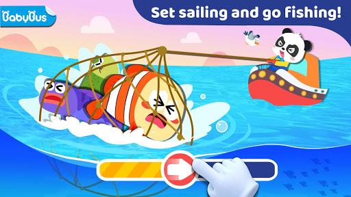 بازی اندروید ماهیگیری کودک پاندا - Baby Panda: Fishing