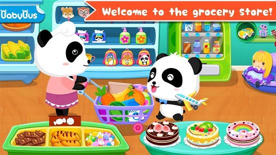 بازی اندروید سوپر مارکت بچه پاندا - Baby Panda's Supermarket