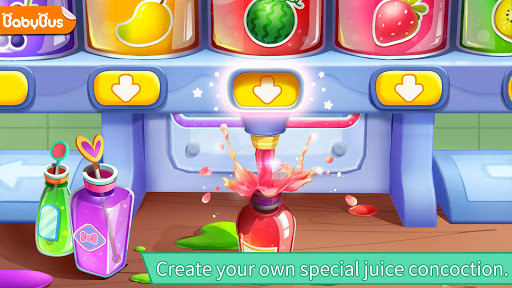 بازی اندروید فروشگاه آب میوه پاندا - Baby Panda's Juice Shop