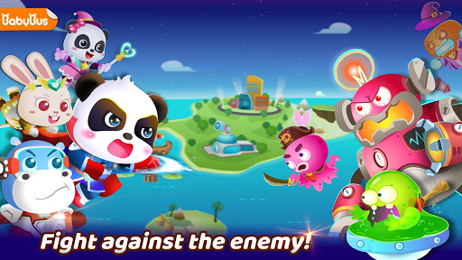 بازی اندروید قهرمان نبرد پاندا کوچولو - Little Panda's Hero Battle Game