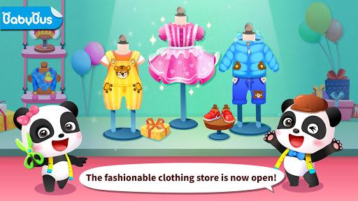 بازی اندروید مد لباس پاندا - Baby Panda's Fashion Dress Up Game