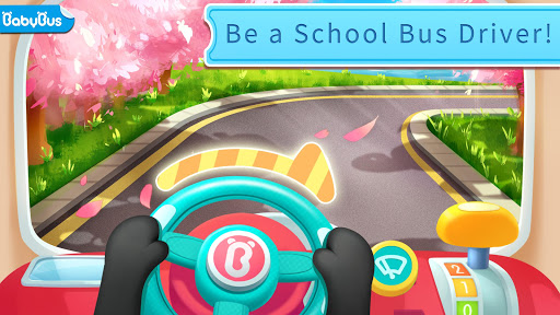 بازی اندروید بیایید رانندگی کنیم - اتوبوس مدرسه پاندا - Let's Drive! -Baby Panda's School Bus