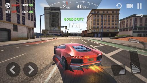 بازی اندروید شبیه ساز رانندگی ماشین  - Ultimate Car Driving Simulator