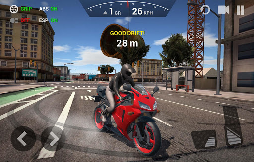 بازی اندروید موتور سیکلت - Ultimate Motorcycle Simulator