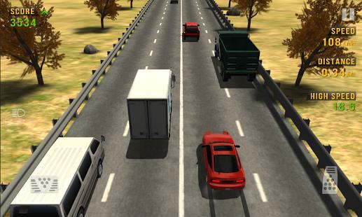 بازی اندروید مسابقه ترافیک - Traffic Racer
