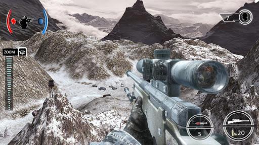 بازی اندروید تیراندازی از خفا کوهستان - Mountain Sniper Shooting: 3D FPS