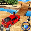 بازی بدلکاری غیرممکن اتومبیل - شبیه ساز ماشین مگا رمپ
