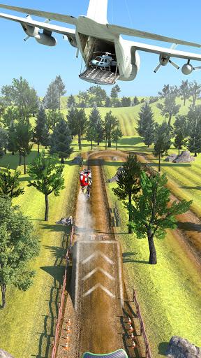 بازی اندروید شیرینکاری موتور تیرکمان - Slingshot Stunt Biker