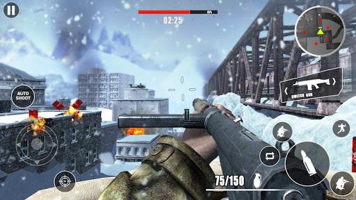بازی اندروید حمله جهانی جنگ دوم - تیراندازی رایگان با اسلحه 2021 - World War Strike: WW2 FPS: Free Gun shooting 2021