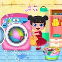 نرم افزار مادر بچه - شستشو لباس کودک