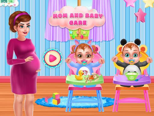 بازی اندروید مهد کودک مراقبت از نوزاد - Mommy Baby Care Newborn Nursery