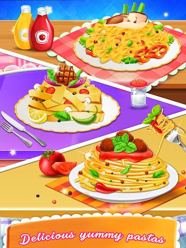 بازی اندروید پخت ماکارونی - بازی آشپزخانه - Pasta Cooking Mania: Kitchen Game