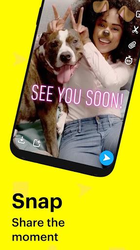 نرم افزار اندروید اسنپ چت - Snapchat