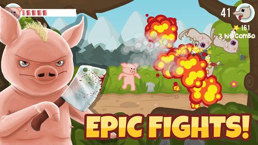 بازی اندروید خوک مبارز - Iron Snout - Fighting Game