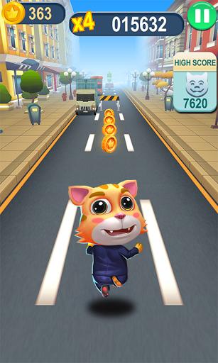 بازی اندروید حمله گربه دونده - Cat Runner-Online Rush