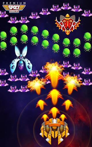 بازی اندروید شلیک فصایی - حمله بیگانگان کهکشان - Space Shooter: Alien vs Galaxy Attack (Premium)