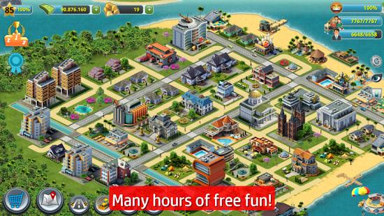 بازی اندروید شهر جزیره - ساختمان سازی - City Island 3 - Building Sim