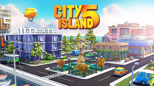 بازی اندروید شهر جزیره 5 - شبیه ساز آفلاین سرمایه دار ساختمان - City Island 5 - Tycoon Building Simulation Offline