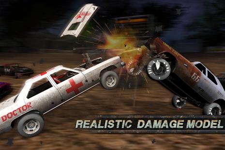 بازی اندروید دربی تخریب - مسابقه تصادف - Demolition Derby: Crash Racing