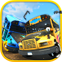 مسابقه تخریب اتوبوس مدرسه