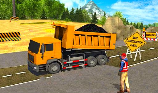 بازی اندروید ساخت جاده - Road Builder Construction Sim Games