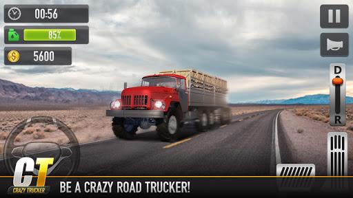 بازی اندروید کامیون دیوانه - Crazy Trucker