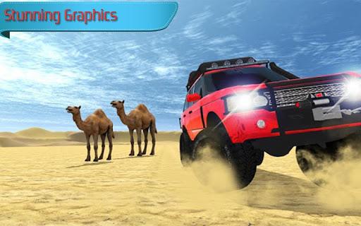 بازی اندروید رانندگی آفرود کویری پرادو - Offroad Desert Prado Driving Game 2018