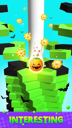 بازی اندروید خرد کن دودکش توپ - Stack Crush Ball