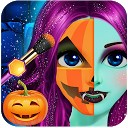 بازی سالن آرایش دختر زیبا - آرایش هالووین 2018