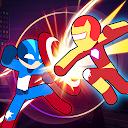 بازی مبارزه قهرمانان استیکمن - بهترین جنگجویان استیک