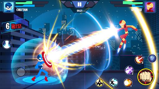 بازی اندروید مبارزه قهرمانان استیکمن - بهترین جنگجویان استیک - Stickman Heroes Fight - Super Stick Warriors