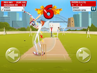 بازی اندروید استیک کریکت  2 - Stick Cricket 2