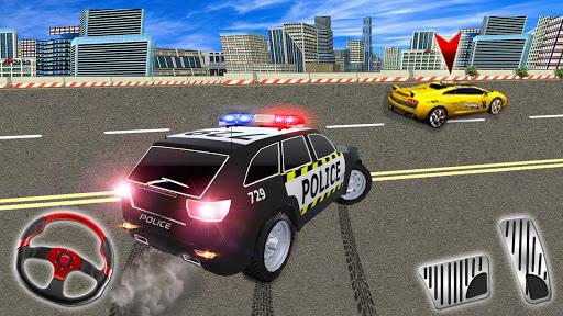 بازی اندروید پلیس بزرگراه در شهر - مسابقه جنایی - Police Highway Chase in City - Crime Racing Games