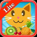 گربه بازی - رنگ میوه