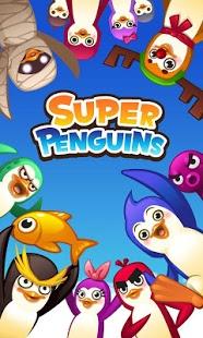 بازی اندروید ابر پنگوئن - Super Penguins