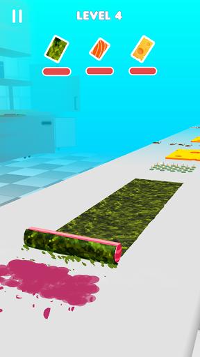 بازی اندروید رول سوشی - پخت غذا - Sushi Roll 3D - Cooking ASMR Game