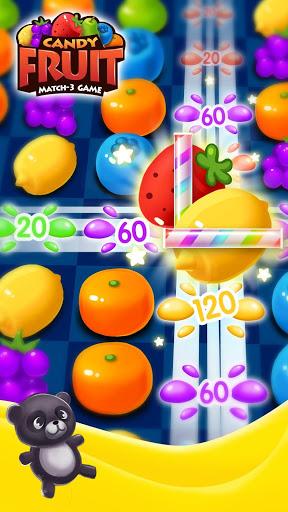 بازی اندروید آب نبات میوه ای شیرین - Sweet Fruit Candy