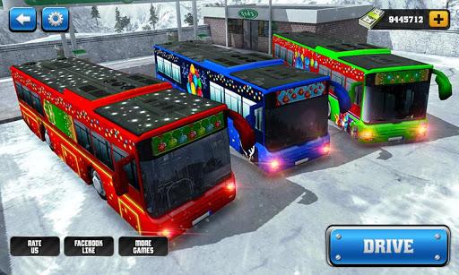 بازی اندروید رانندگی در جاده های کوهستانی - Off-Road Hill Bus Driving 2017