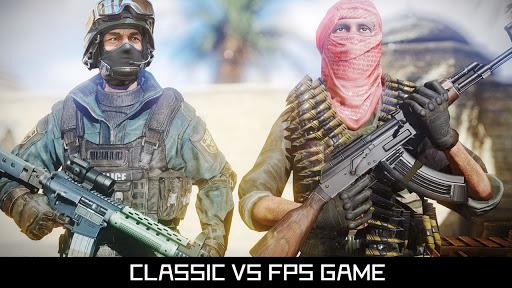 بازی اندروید ضربه آنلاین - تیرانداز چند نفره تک به تک - FPS Online Strike - Multiplayer PVP Shooter