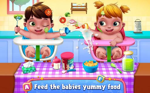 بازی اندروید پرستار بچه - Babysitter First Day Mania - Baby Care Crazy Time