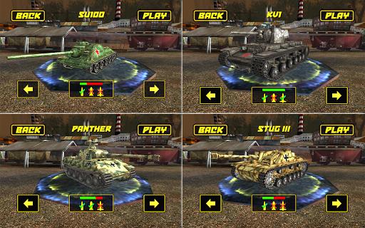 بازی اندروید جنگ تانک - Tank Fight 3D Game