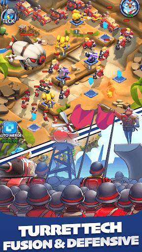 بازی اندروید دفاع خروس - Rooster Defense