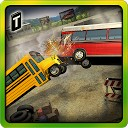 مسابقه تخریب - اتوبوس مدرسه