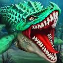 دایناسور زیر آب