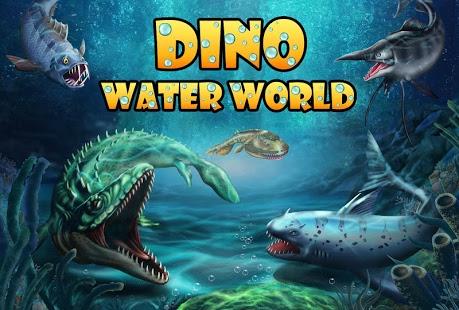 بازی اندروید دایناسور زیر آب - Jurassic Dino Water World