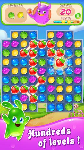 بازی اندروید انفجار میوه آب نبات - Fruit Candy Blast