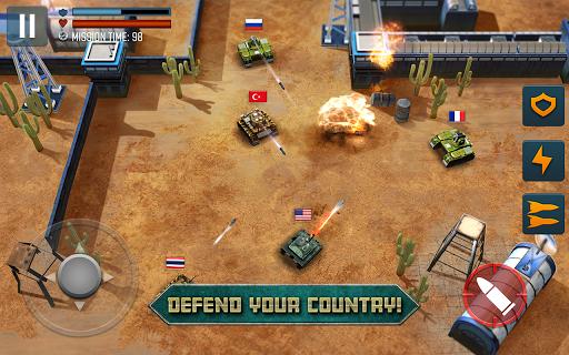بازی اندروید قهرمانان نبرد تانک - جهان تیراندازی - Tank Battle Heroes: World of Shooting