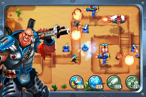 بازی اندروید برج دفاع - حماسه جنگ - Tower Defense : Epic War