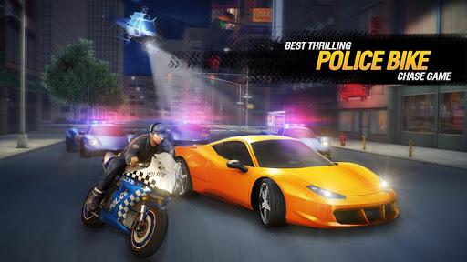 بازی اندروید موتور پلیس ایالات متحده آمریکا - US Police Bike Chase 2019