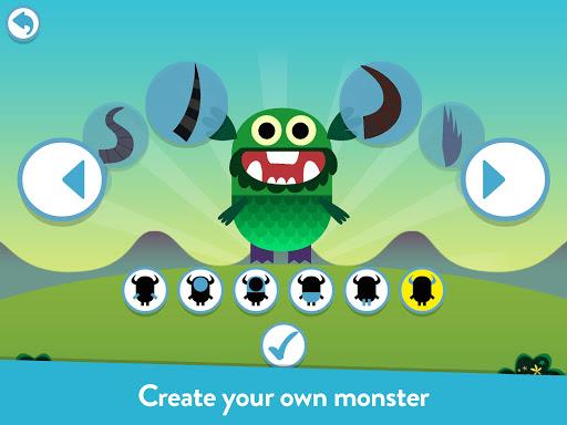 بازی اندروید آموزش هیولای خود برای خواندن - آواز خواندن - Teach Your Monster to Read - Phonics and Reading